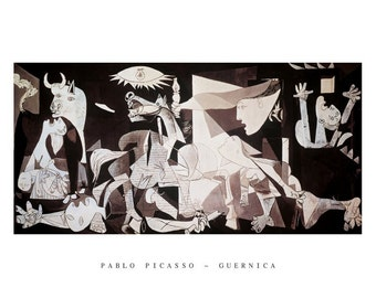 Pablo Picasso Guernica 22 x 28 poster print