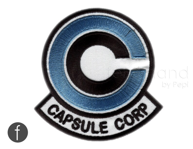 Capsule Corps Jacket Capsule Corp Emblem Iron on