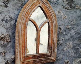 Gothic Mirror Shabby Chic OIN000518