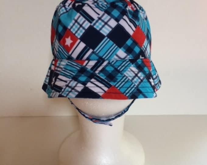 Plaid Bucket Hat Sun Hat - Toddler