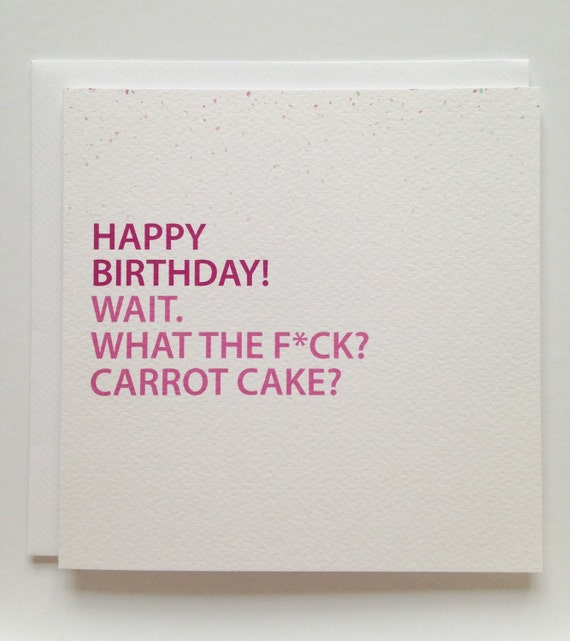 Carrot Birthday Jokes Carrot Cake Happy Birthday