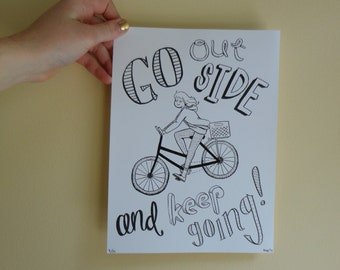 Go Outside Print