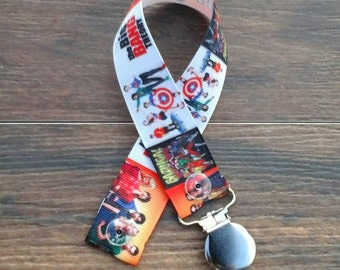 Science Nerdy Chic Pacifier Clip