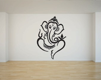 ganesh 4 vinyl wall  laptop decal/sticker