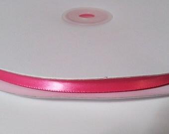 Single Face Satin Ribbon - Hot Pink - 100 Yards