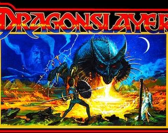1980's Dragon Slayer Custom Tee Shirt