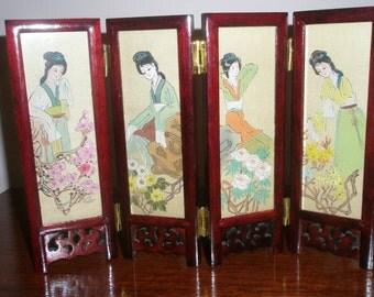 Fabulous Miniture Chinese Screen