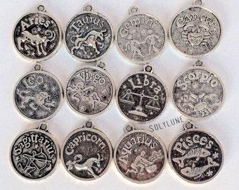 Zodiac sign necklace