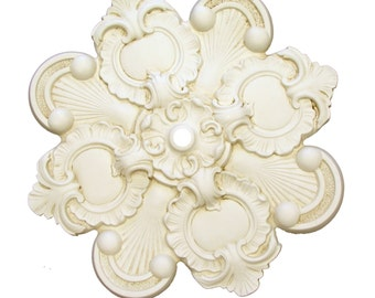 "18"" Diameter Ceiling Medallion for Chandelier or Fan. Available in many Finishes or Custom Color."