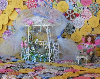 Fairy Cottage, Fairy House, Fairy Door, Fairy Doll, Fairy Chair, Fairies, Elves, Gnomes, Hobbits, Collectibles, Flowers, Faerie House, Gifts