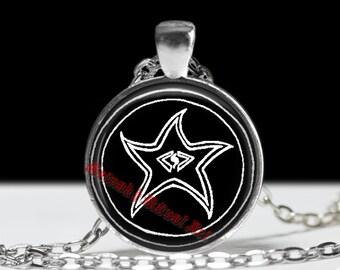 Necronomicon pendant, Sigil of Elders amulet, Al Azif, occult star #24