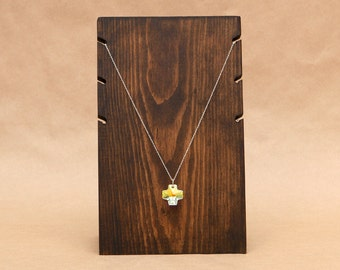 3 Necklace Wooden Necklace Display Board / Necklace Holder / Jewelry Display Necklace Stand Trade Show Craft Show Store Display / NB002