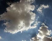 Cloud Art - Surreal Photography / Minimalist Art - Nature Photography / Nature Art - Sky Blue / Blue Art / Blue Photography / Minimalist