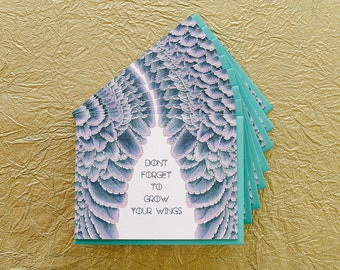 Grow Your Wings - Boxed Set of 8 Cards