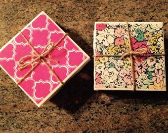 Handmade Customizable Coasters