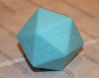 Pre Made D20 Dice Soap