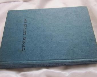 1947 WENDY MOVES UP D.J. Potter Vintage Children's Book 1st Edition
