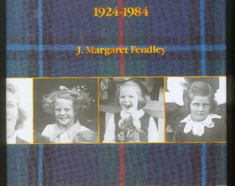 1986 A School On A Hill STRATHCONA Canterbury 1924-1984 J.M. Fendley 1st Edition