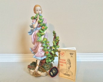 Lovely Sculpture Miss Capodimonte Figurine By Walter Scapinello,Venere.