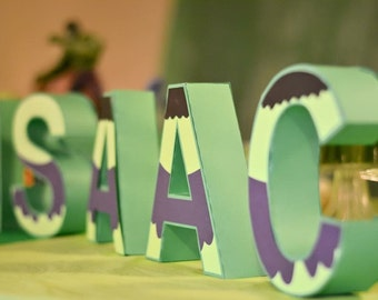 Customize your own way paper 3D letter