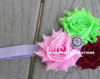 Lavender Headband, Baby Headband, Headband for Babies, Easter Headband, Baby Girl Headband
