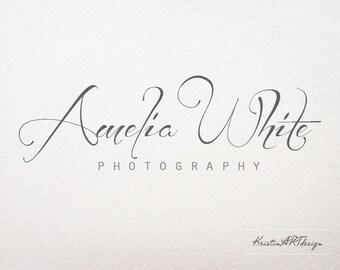 Handrwitten logo, Photography logo and watermark, Signature logo, Minimalistic logo,Premade logo design, Stylish logo 305
