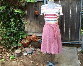70s Knit Dress w/ Belt