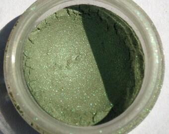 Guilty: shimmering green