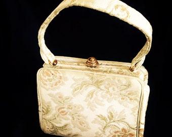 Vintage Authentic Ingber Tapestry Handbag Purse