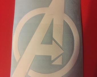 Avengers Logo Vinyl Car Decal
