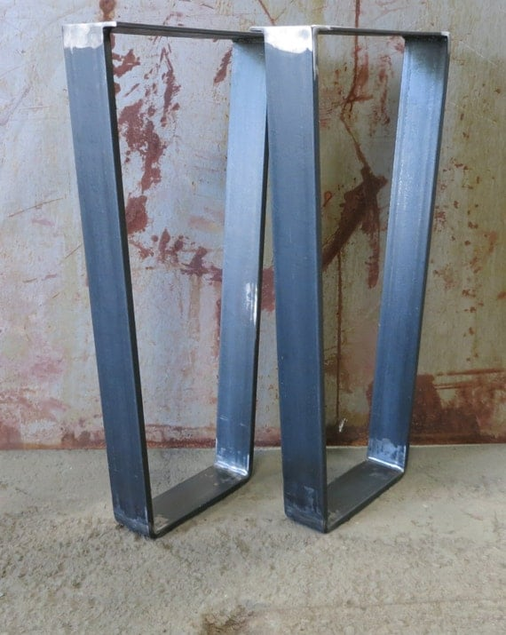Metal Table Legs - Taper Thick Flat bar 3''x1/2''