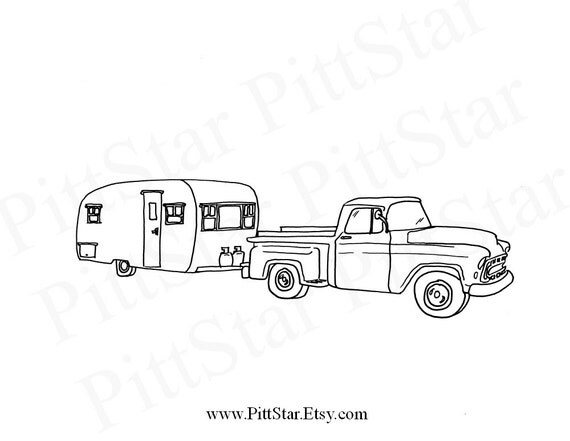 pickup truck coloring pages chevy - photo#2