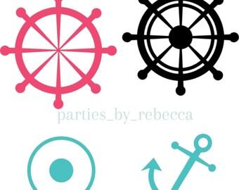 Nautical SVG digial files