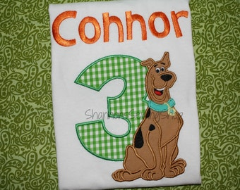Scooby Doo Birthday Shirt - Scooby Birthday