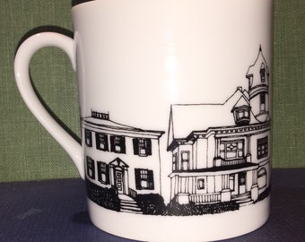 1978 Andrea's hometown coffee mug Kenosha Wisconsin