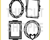The Picture Perfect cut file consists of 4 decorative frame icons, that can be used on your scrapbooking and papercrafting projects.