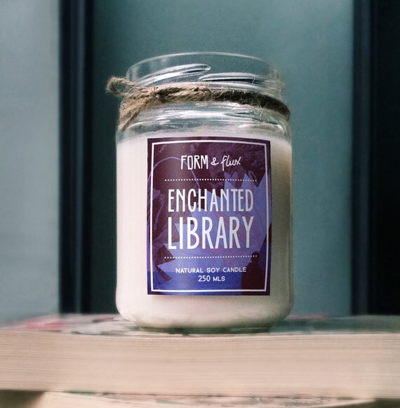Enchanted Library Candle - 9 Candles Every Book-Loving Pyro Needs