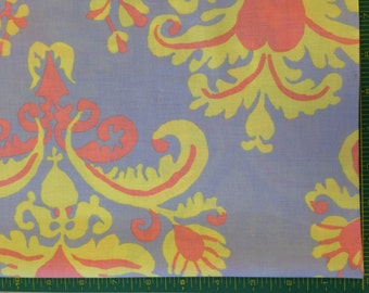 Brandon Mabeley for Rowan and Westminister Fabrics Hard to Find and Rare Burlesque Brocade Pastel BM17 Half Yard Cut