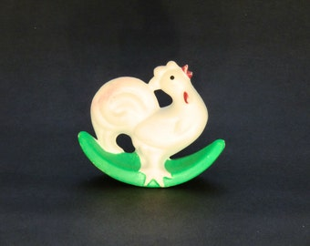 Libuse Niklova Rooster Plastic Squeaky Toy