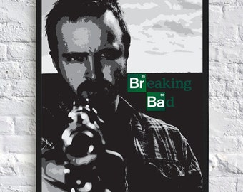 Breaking Bad Inspired Poster - Jesse Pinkman  - A4 - TV Poster