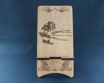 Tablet - Kindle Stand - Tropical Beach