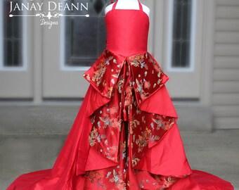 Royal Asian Elegance Gown