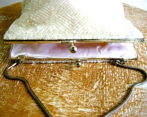 Vintage Handmade Beaded Handbag