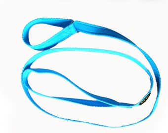 "Pet Dog Slip Lead Leash Soft Cushion Web 19mm (3/4"") wide 1.5mts long"