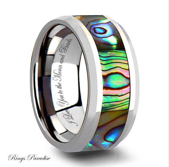 Tungsten Ring Women Tungsten Wedding Band, Tungsten Carbide Band, Ring