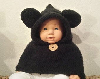 Kids knitted hoodie