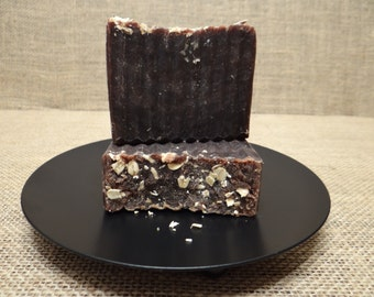 Oatmeal Stout Rustic Beer Soap