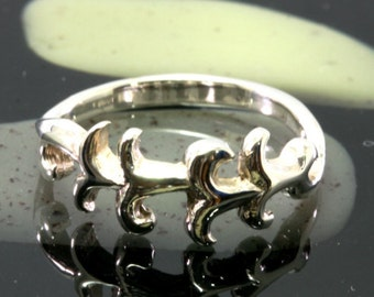 Small ring 925 sterling silver, celtic design - 6082
