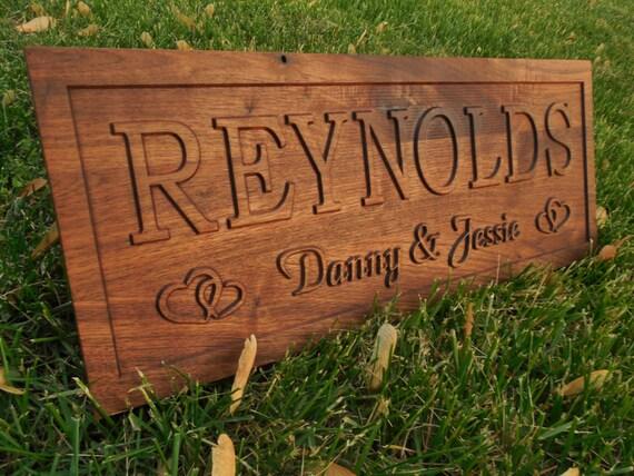 Sale hearts personalized jw wedding gift by topgrainwoodshop