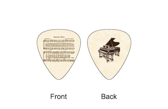 christian hymn amazing grace guitar pick by luwanguitarsupply. Black Bedroom Furniture Sets. Home Design Ideas
